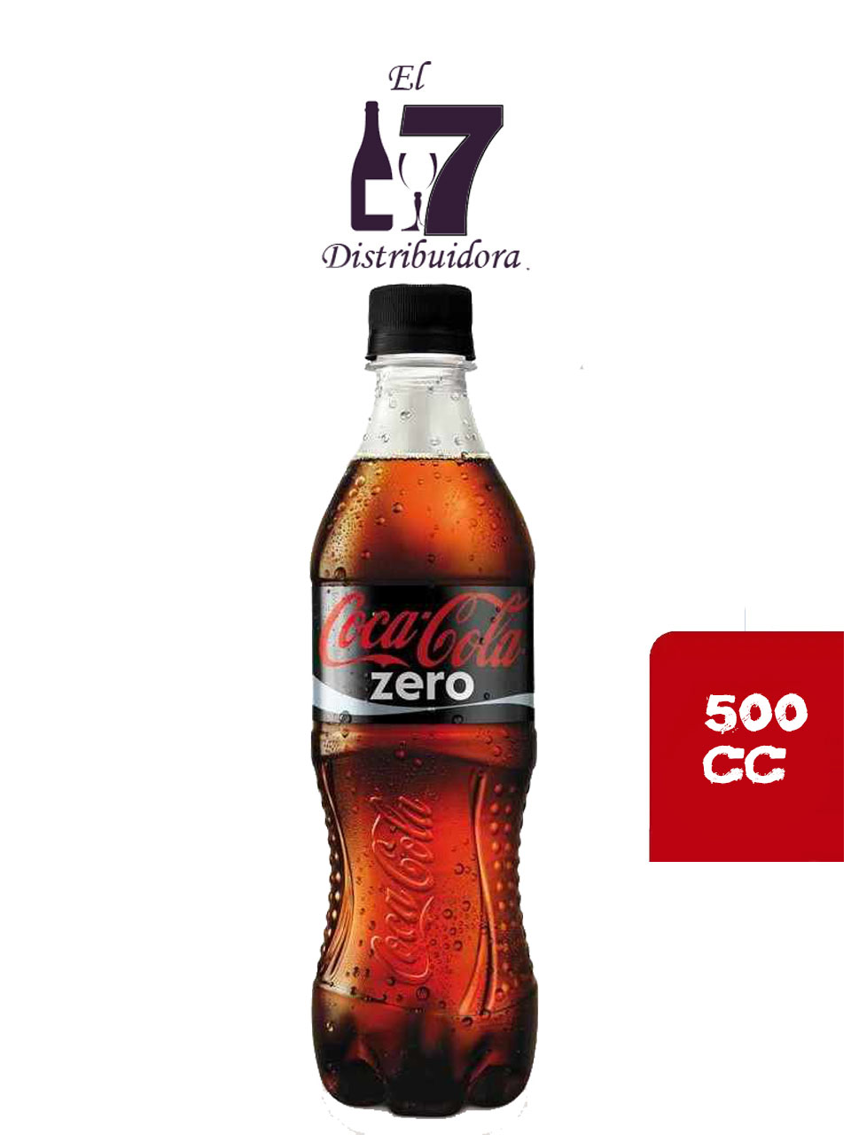 Coca Cola Zero 500 CC x6