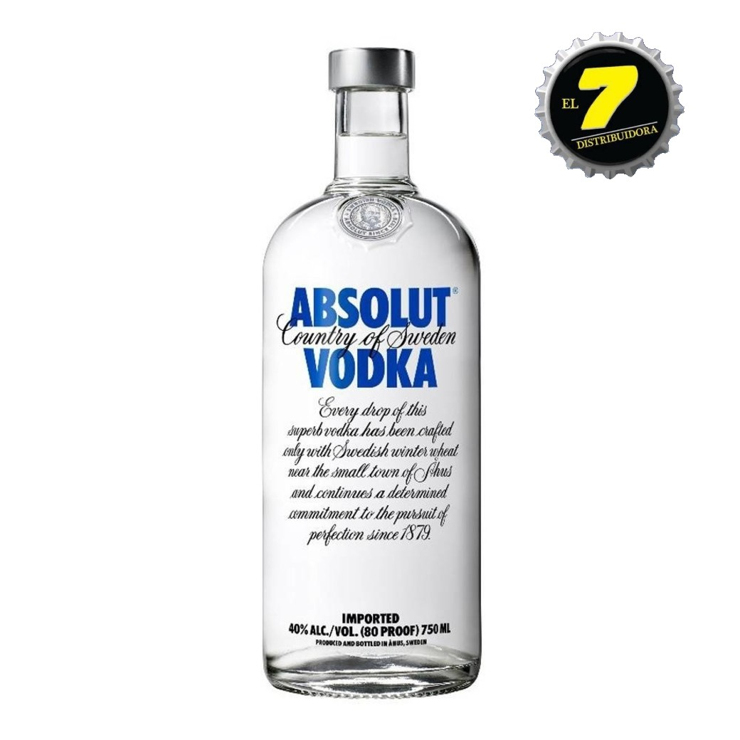 Vodka Absolut Tradicional