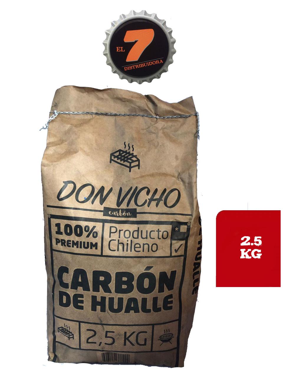 Carbon de Hualle 2.5 Kg
