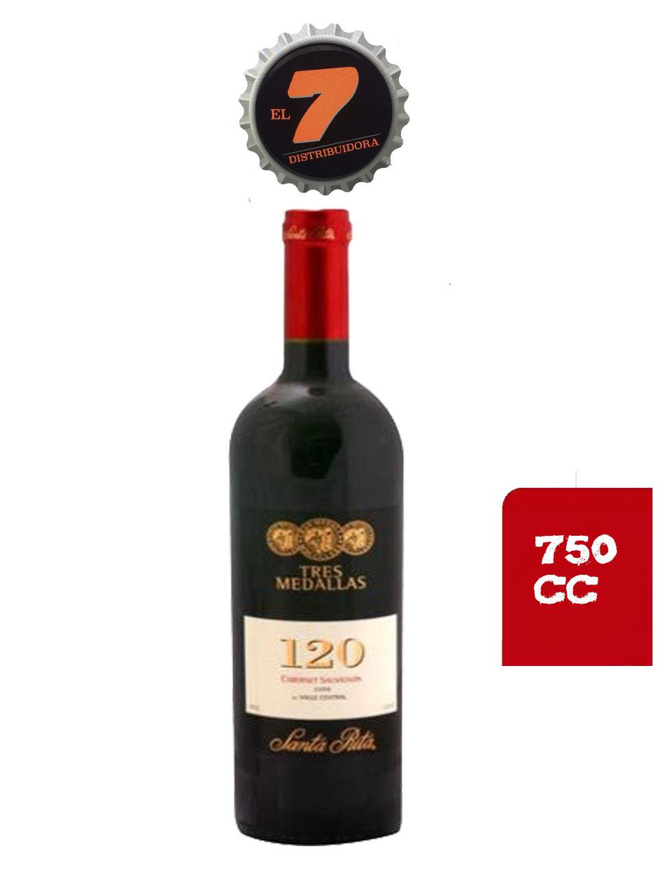 120 3 Medallas 750 CC Cabernet Sauvignon