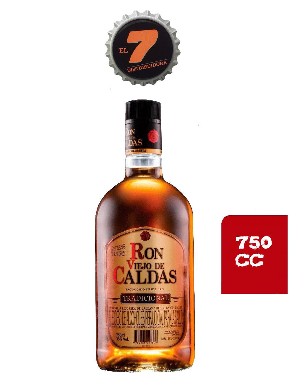 Ron Viejo De Caldas 750 CC