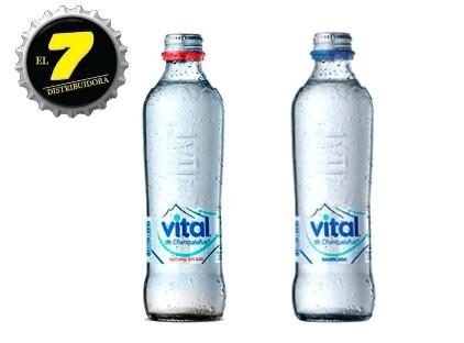 Vital 330cc vidrio  x12 Unidades