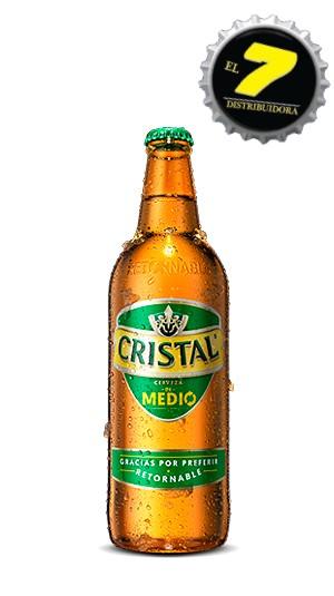 Cristal 500cc x20 Retornable