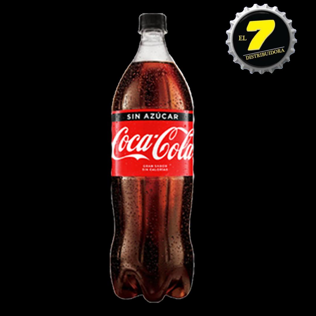 Coca Zero 1.5 pet x 6 unidades