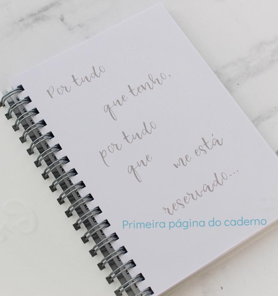 Caderno Gratidão