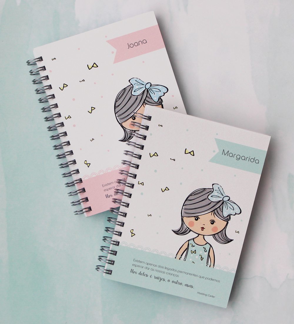 Caderno Lacinhos