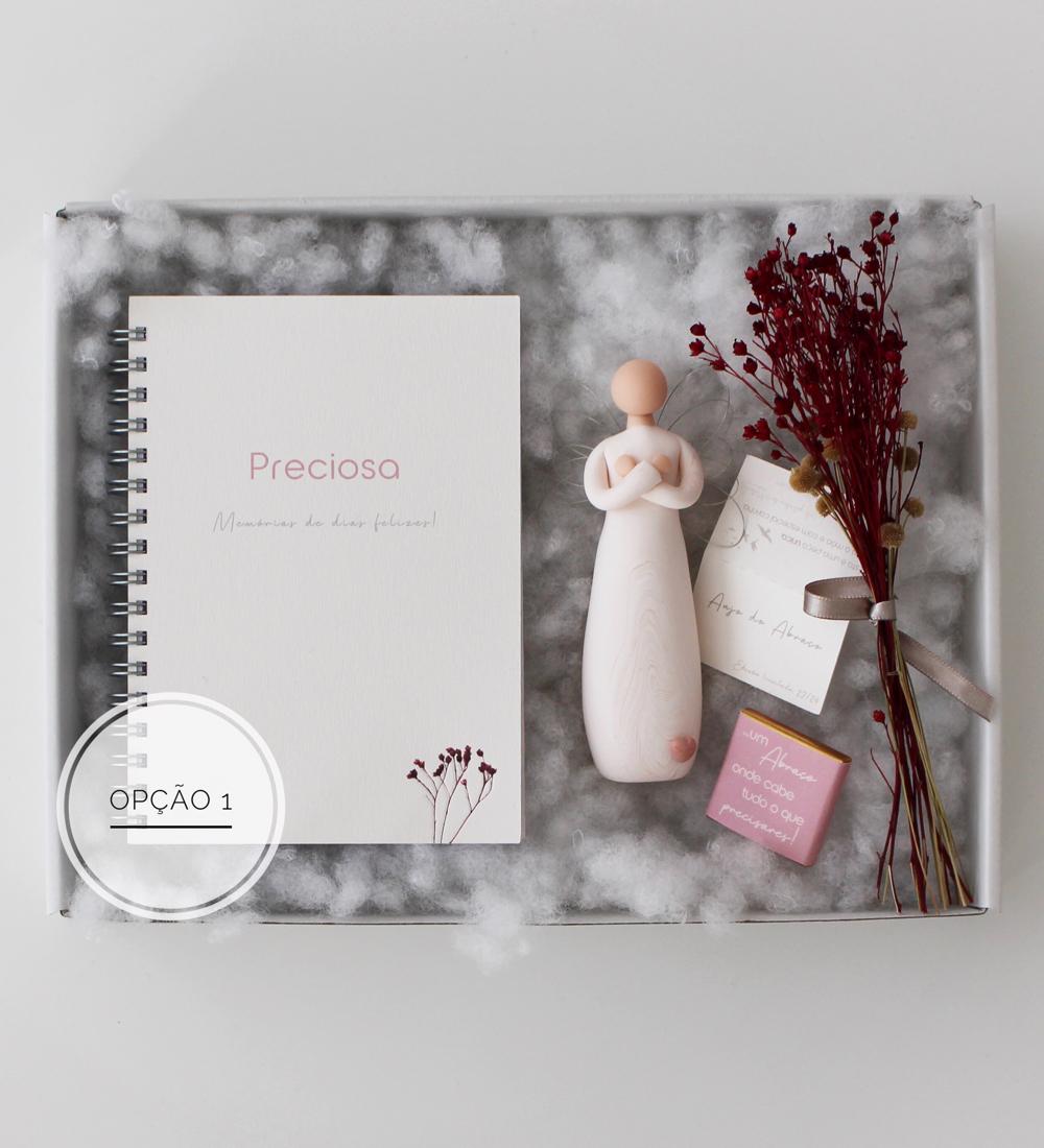 Gift box Abraço - Edição Limitada - Dia da Mãe