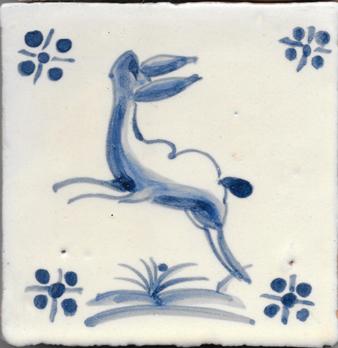 Tile for Restoration - Antique Figures