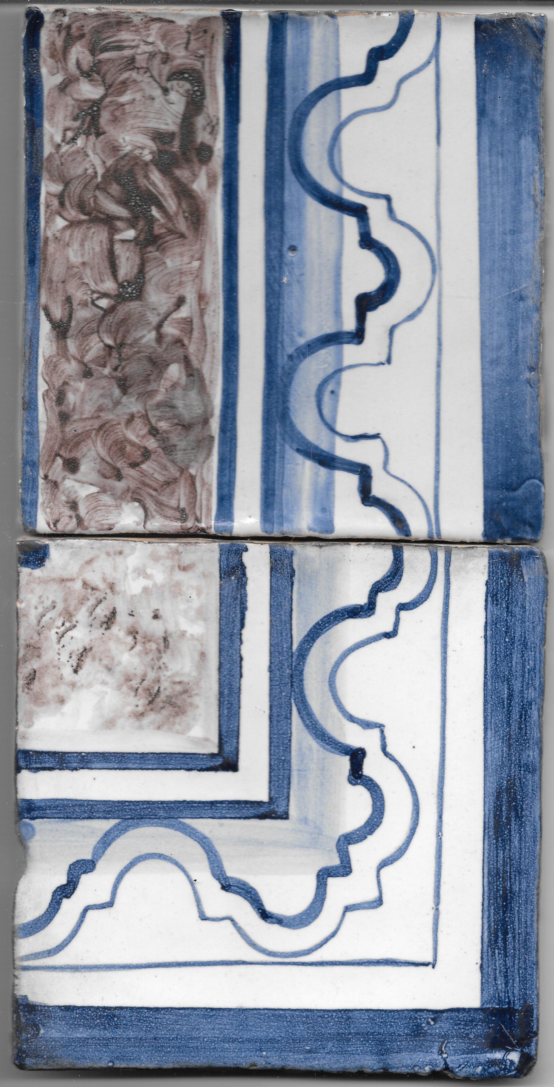 Restoration Tile - Old border 6