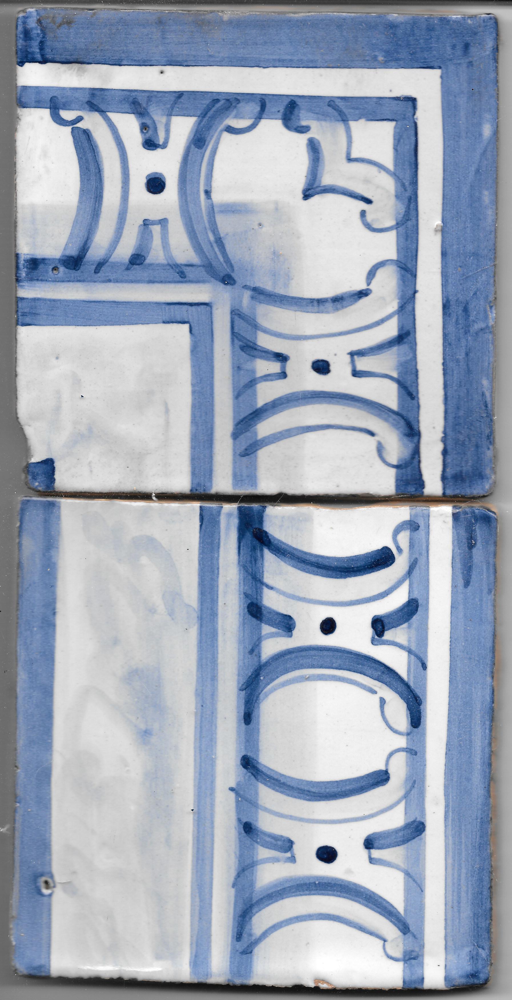 Azulejo para Restauro - Antigo Cercadura 7