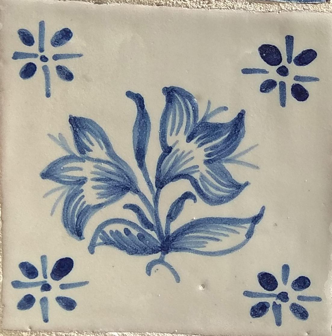 Azulejo para Restauro - Antigo Figuras 2