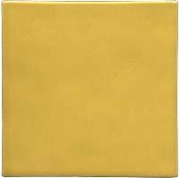 Azulejo feito à mão - Cor  Amarelo Claro