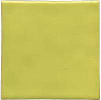 Handmade Tile - Color Yellow Lemon