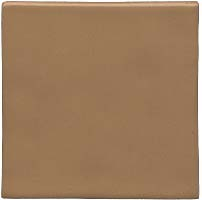 Hand made tile - Caramel color