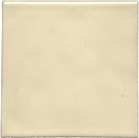Handmade tile - Color Cream