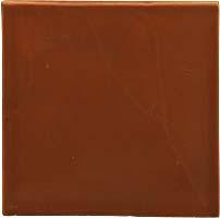 Handmade tile - Color Light Brown