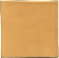 Handmade tile - Color Light Orange