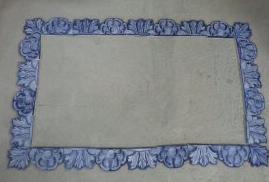 Cadre I en carreaux coupés à la main