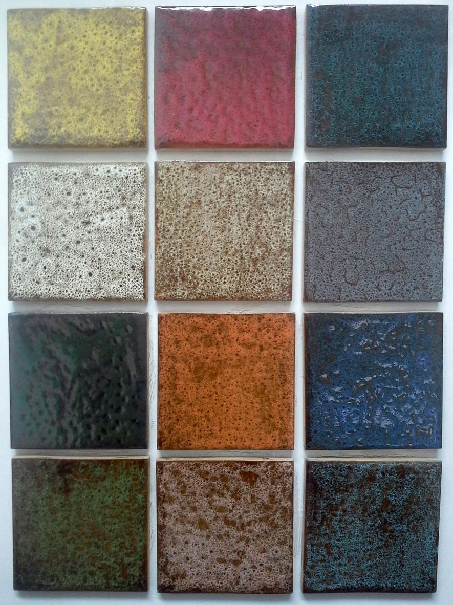 Carrelage 10 x 10 couleurs rustique