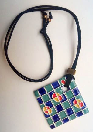 """Necklace """"Tiles and Mandalas"""" I"""