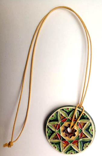 "Necklace ""Tiles and Mandalas"" IV"