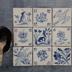Kit - Do it yourself - Paint Portuguese Tiles