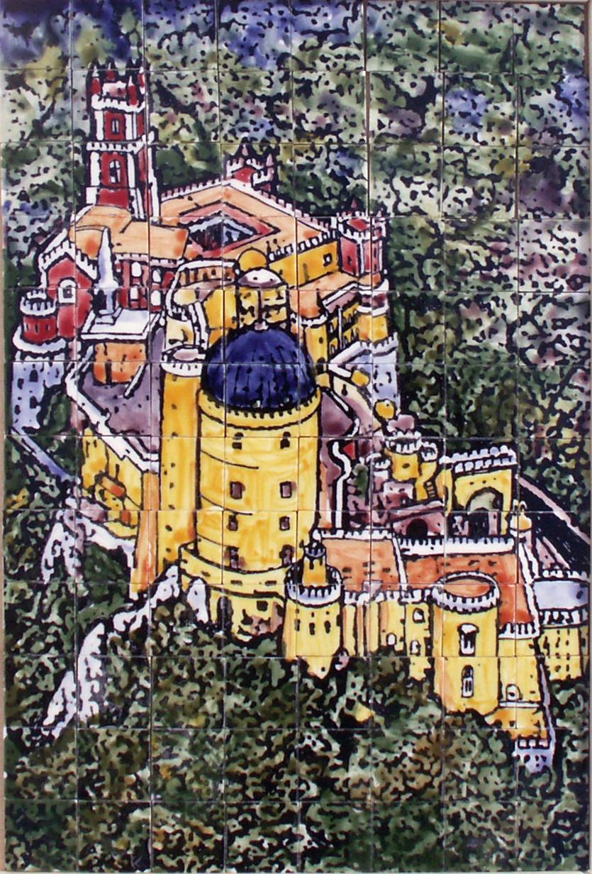 Panneau PALACE DU PETIT STYLO - coloré