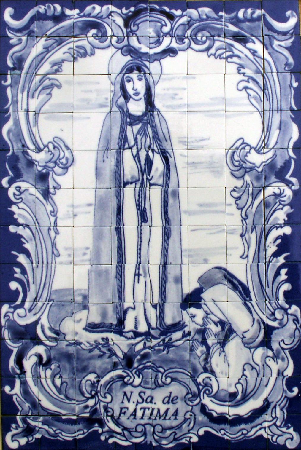 Panneau de Notre-Dame de FATIMA
