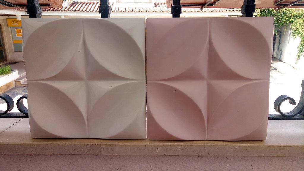PAREDES 3D em cerâmica