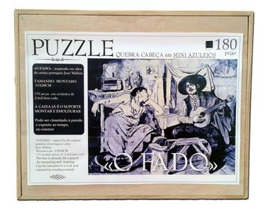 """Puzzle en céramique """"O FADO"""""""