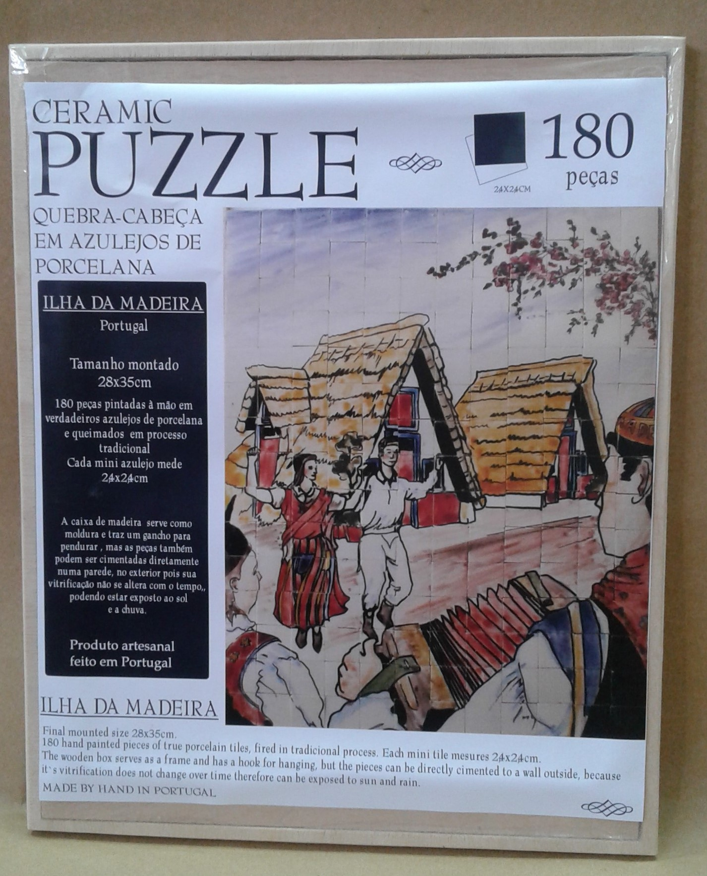 Puzzle Madeira Island ON SALE