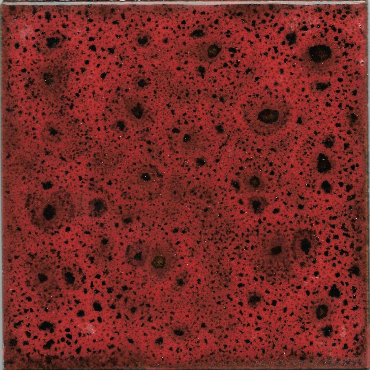 Tile 10x10cm - Effect Colors - Klee Line - Red Color