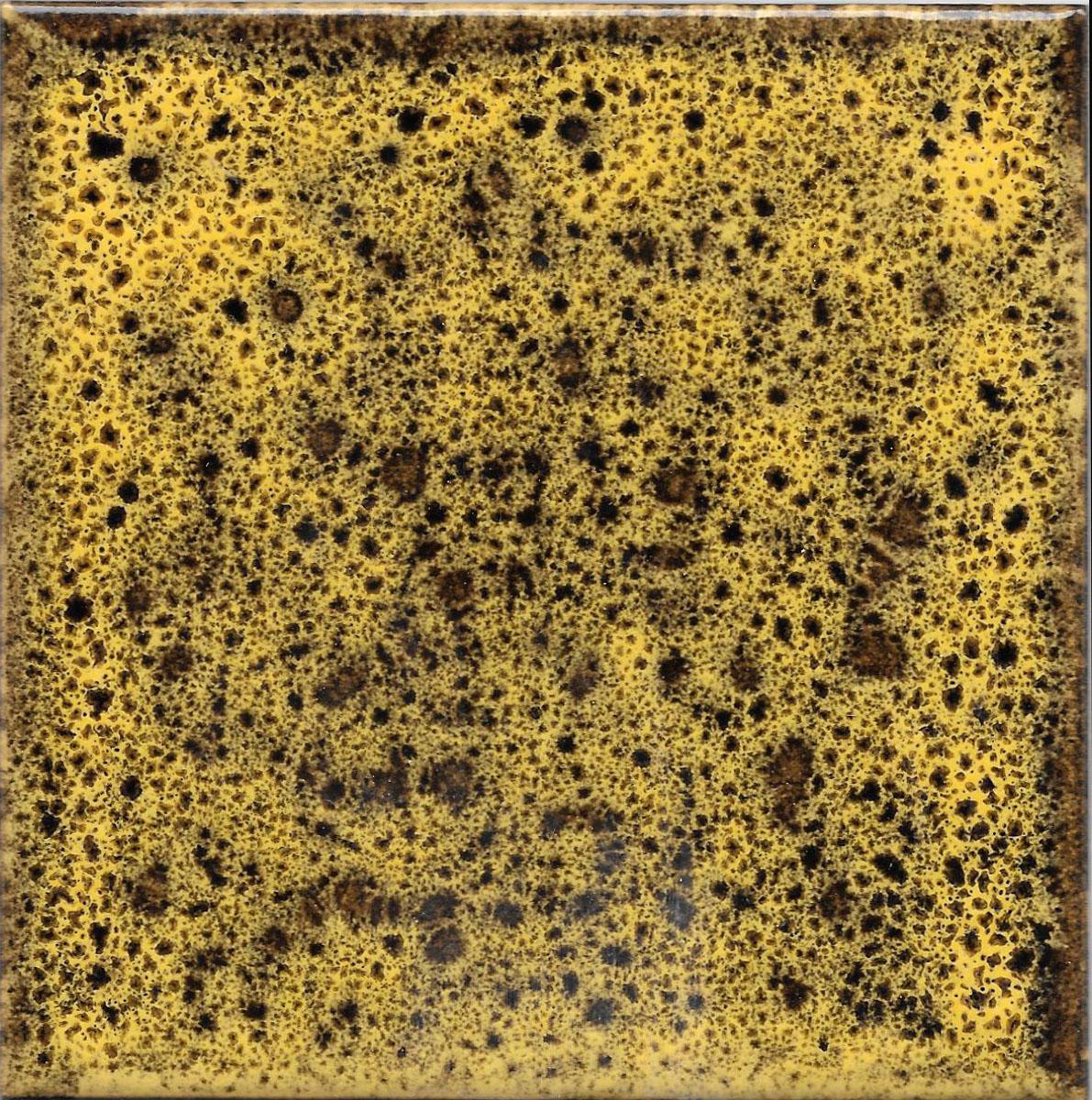Tile 10x10cm - Effect Colors - Klee Line - Yellow color