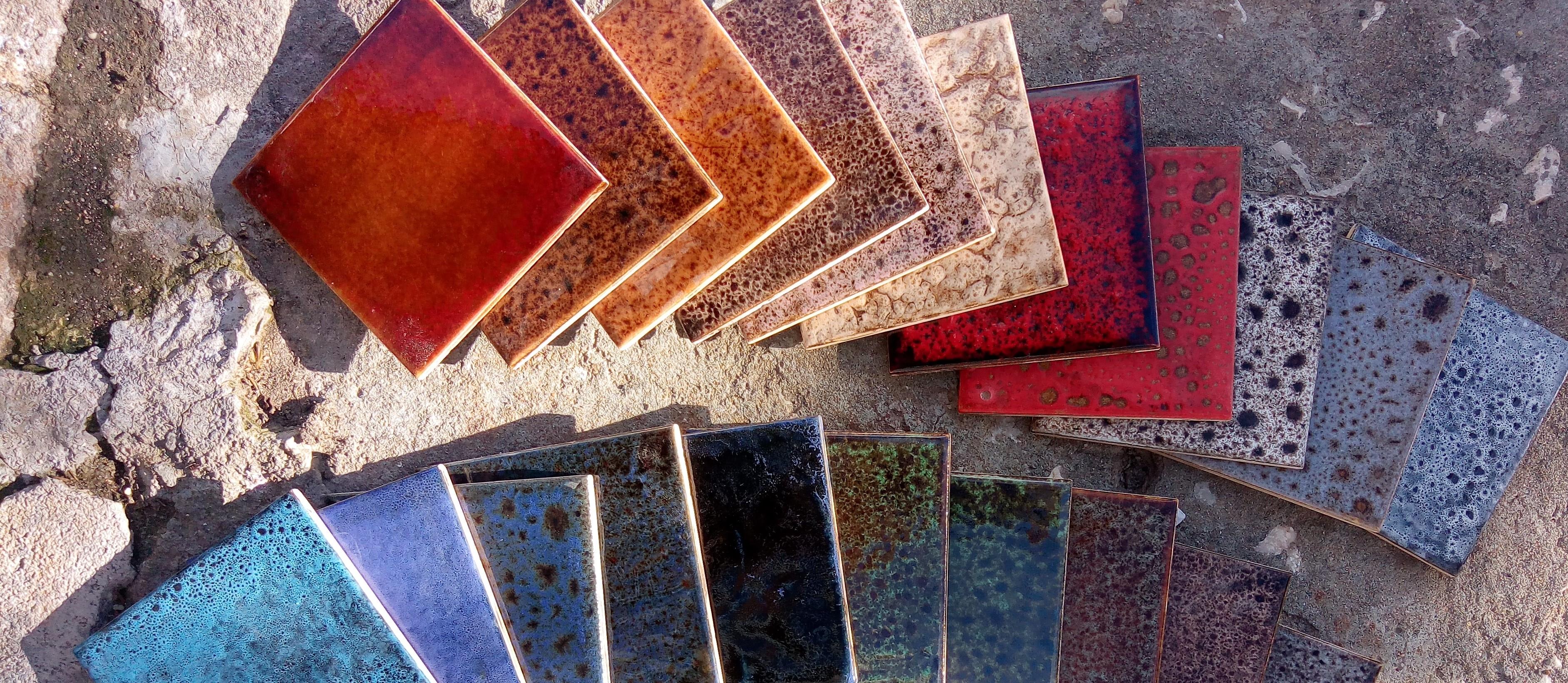 colores rústicos y de efecto