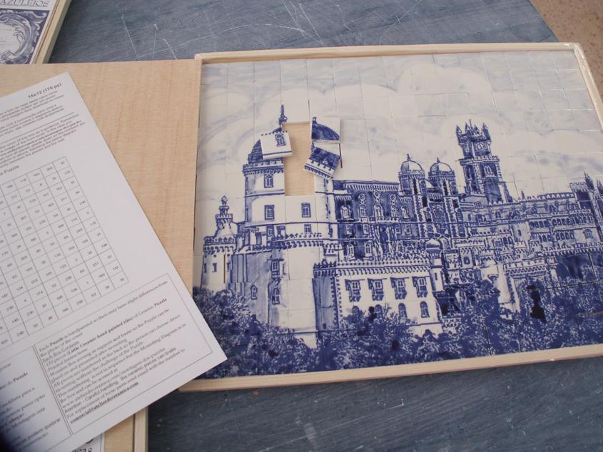 SOBRE Puzzles y Paneles de Mini Azulejos