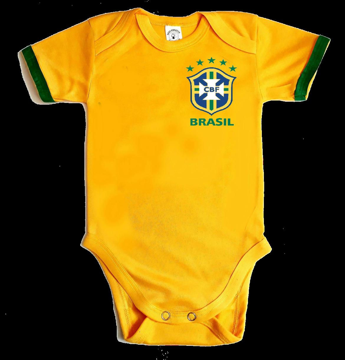 Body para bebe selección Brazil 2018 - Baby monster