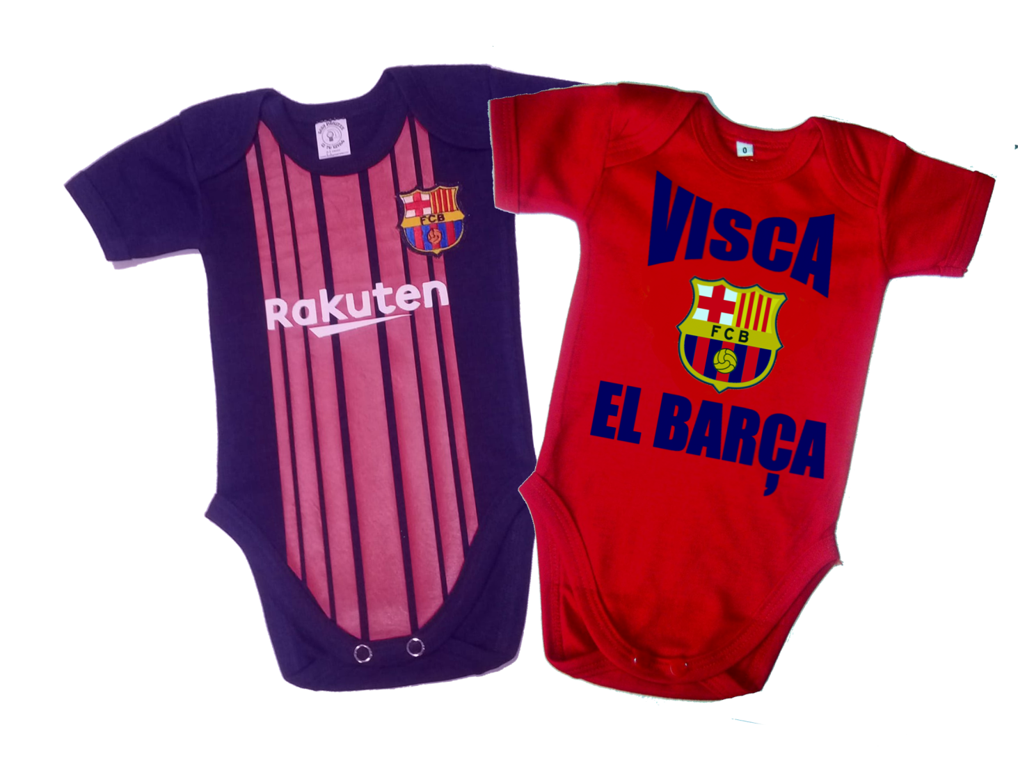 Set Ropa Para Bebe 2 Body Bodie Barcelona Baby Monster