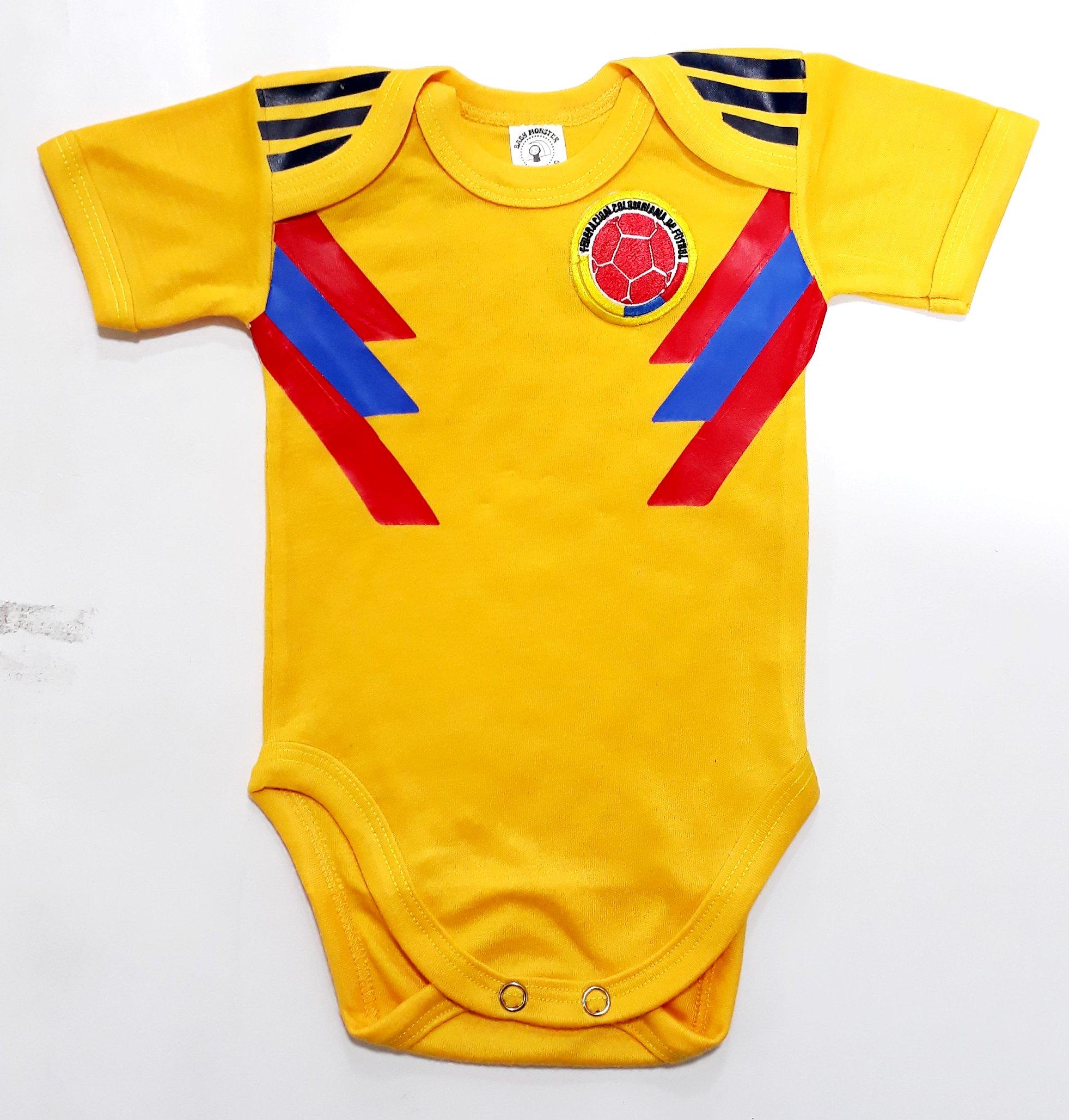 Ropa Para Bebe Body Bodie Futbol Seleccion Colombia 2018