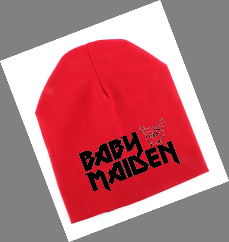 Ropa Bebe gorro rock iron maiden Baby Monster