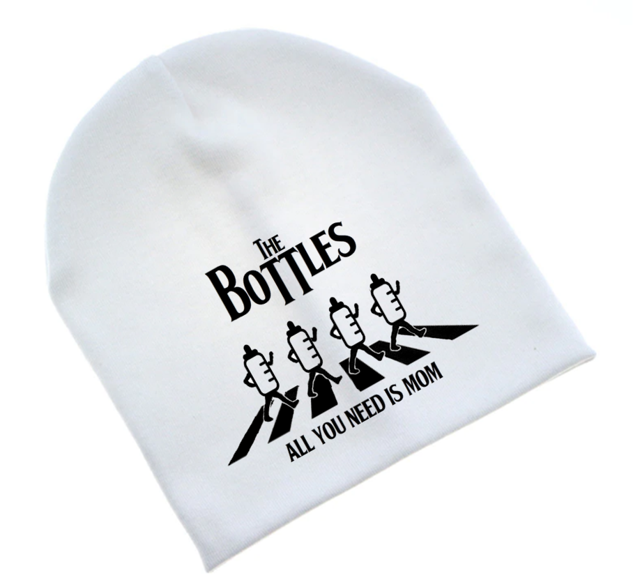 Ropa Bebe gorro rock The beatles imagine Baby Monster