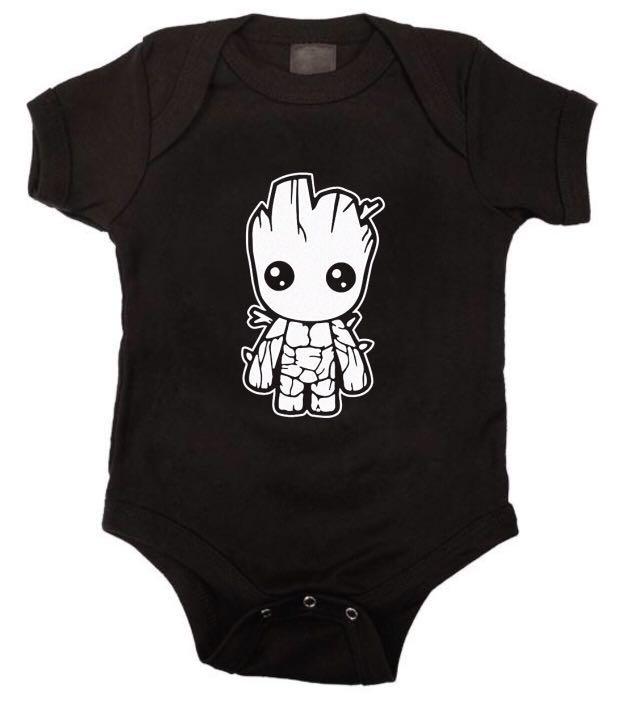 Ropa para bebe Bodi Yo soy groot Baby monster