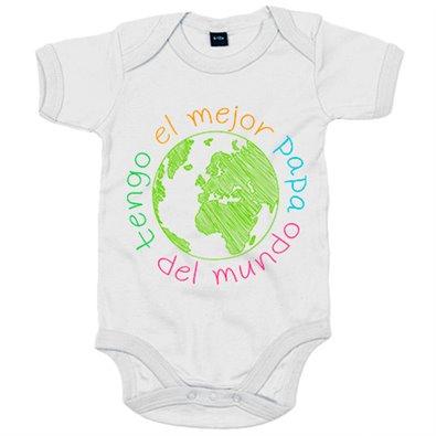 Ropa Bebe Body Bodi Tengo el mejor papá del mundo Baby Monster