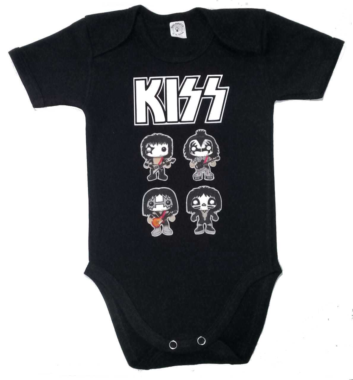 Ropa Bebe Body Bodie rock  Kiss baby monster