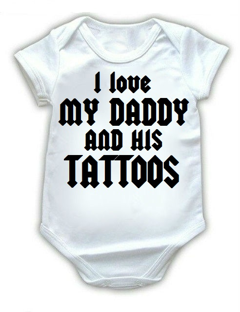 Ropa Para Bebe Body Bodie Tattoos Rock Baby Monster