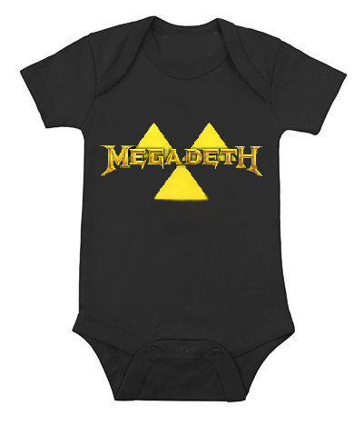 Ropa Para Bebe Body Bodie Rock Megadeth Baby Monster