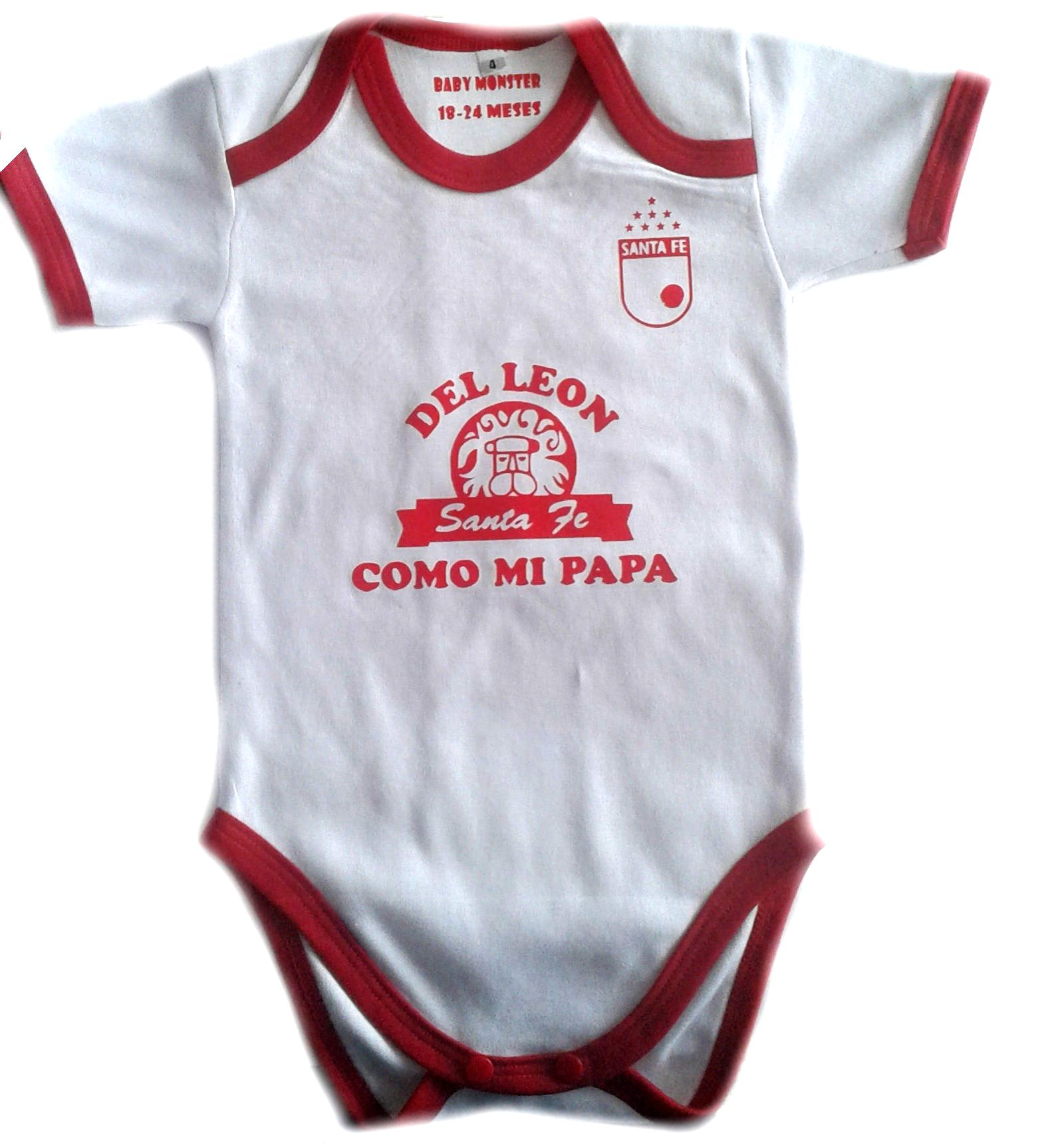 ropa de futbol para bebes