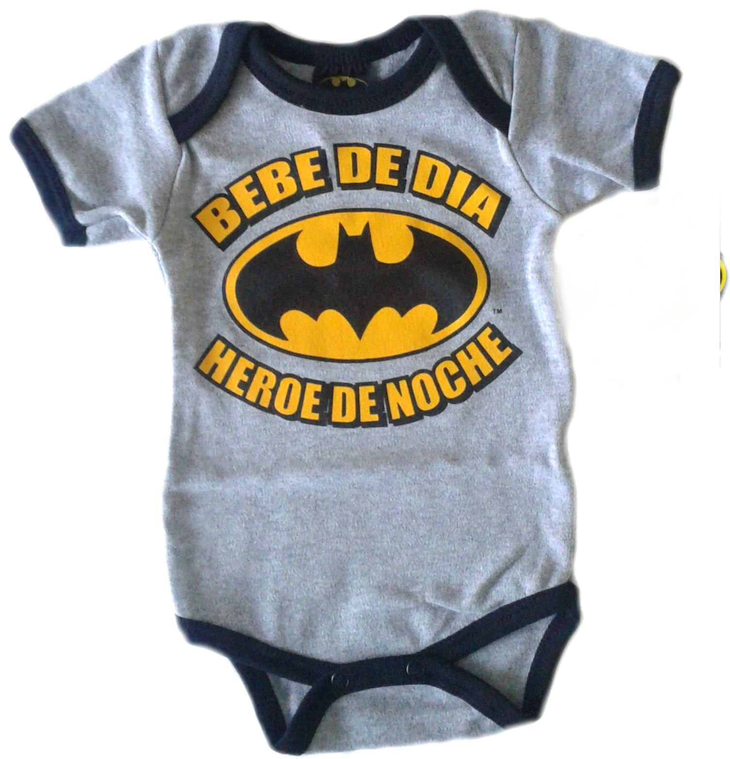 Body para bebe Batman Bebe de día - Baby monster​