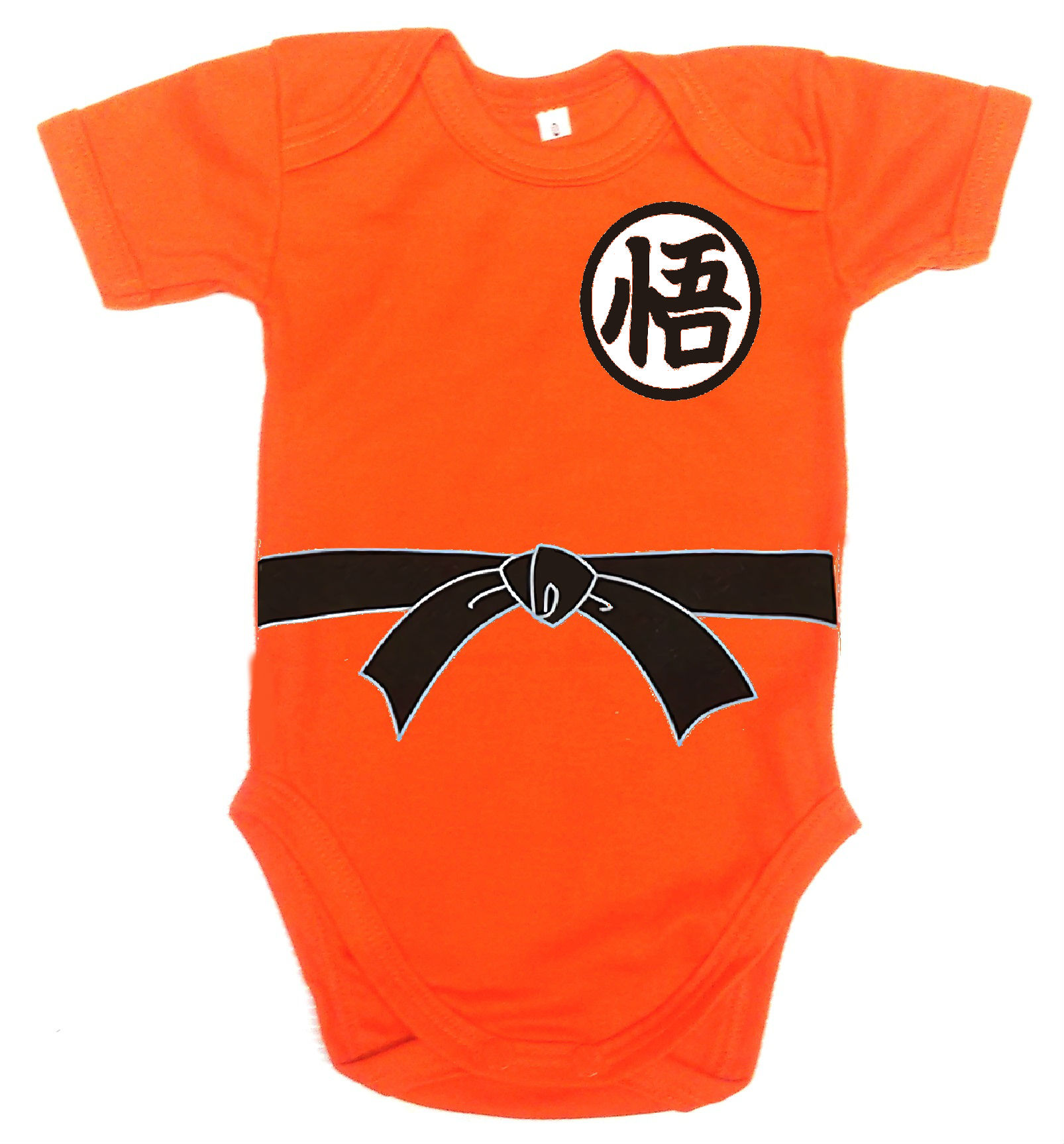 Ropa Para Bebe Body Bodie Goku Comic Baby Monster 4227cc66f891