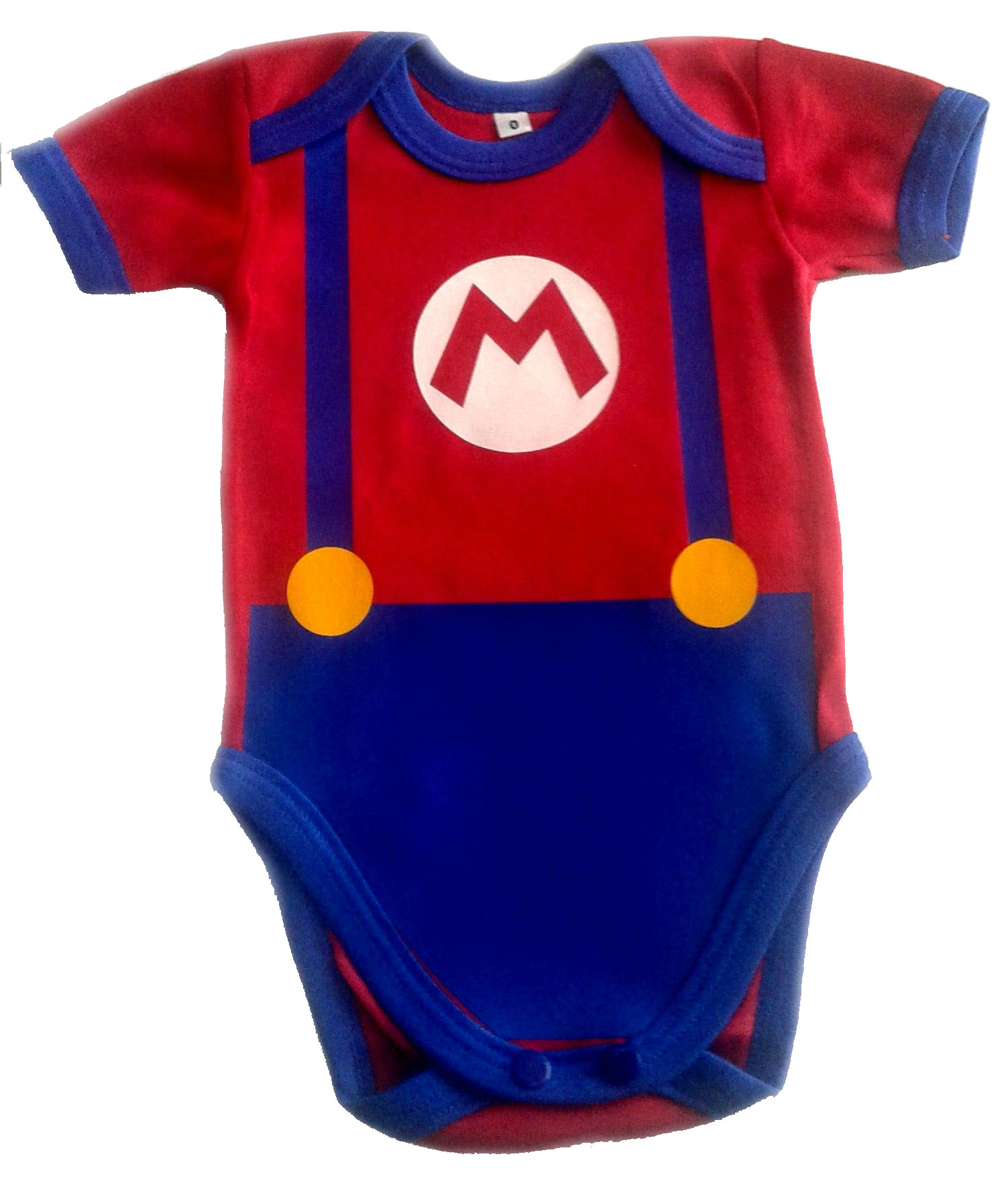 Ropa Para Bebe Body Bodie Mario Bross Baby Monster