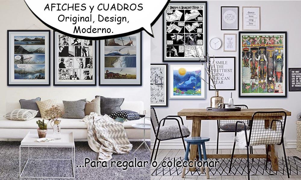 AFICHES Y CUADROS